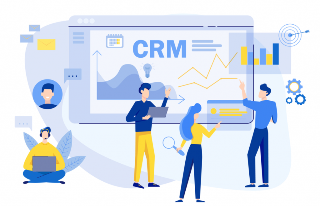 CRM là hệ thống bao chứa SMS Marketing