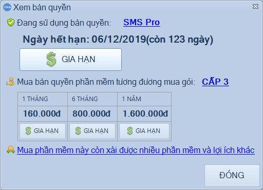 Bản quyền trên SMS Marketing iClick